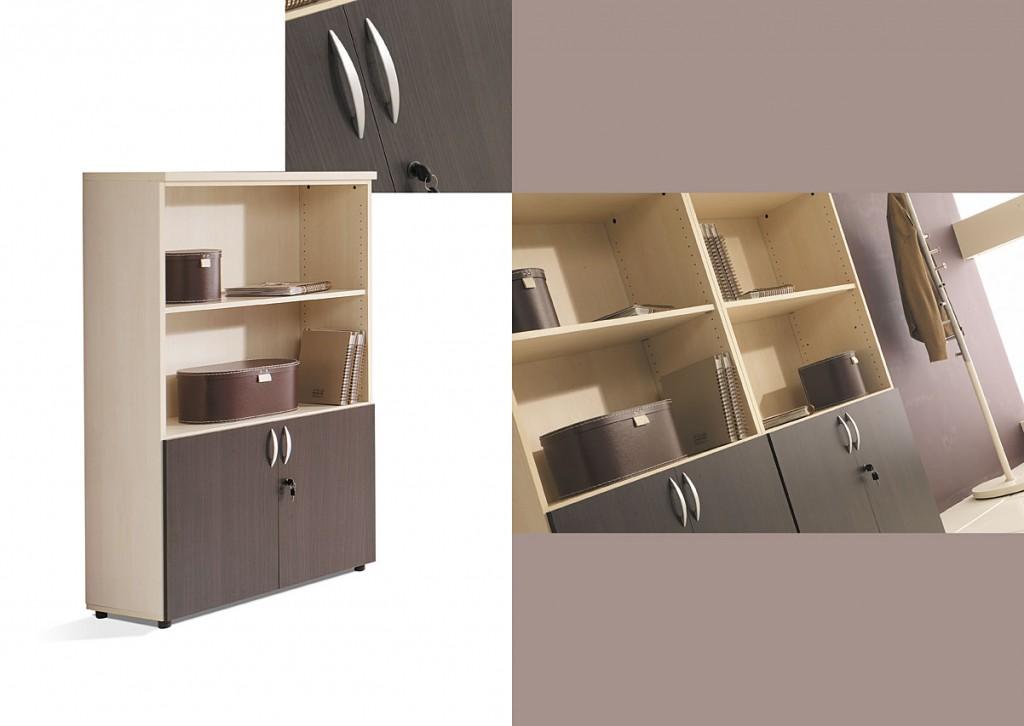 Armarios de oficina solytec mobiliario para la oficina for Muebles de oficina castilla